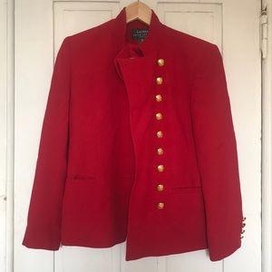 Jackets & Blazers - Red Ralph Lauren petite coat